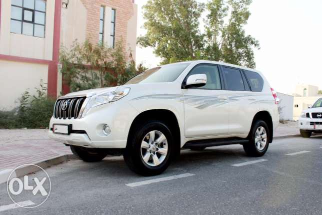 Land Cruiser Prado-2014 in Excellent Condition
