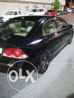 Black Honda civic with 5 digits No for sale