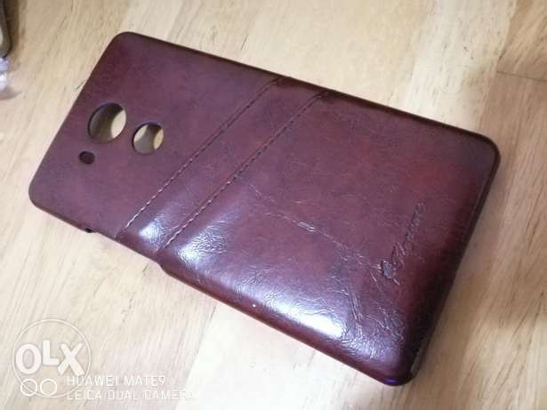 Huawei Mate 8 Genuine leather Back Cover المطار القديم -  1