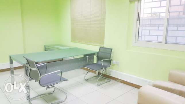 Fully-Furnished Open Space office At D-Ring Road