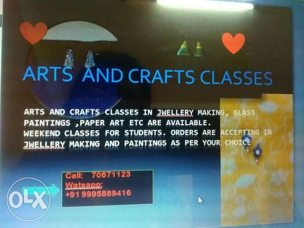 Arts and crafts classes