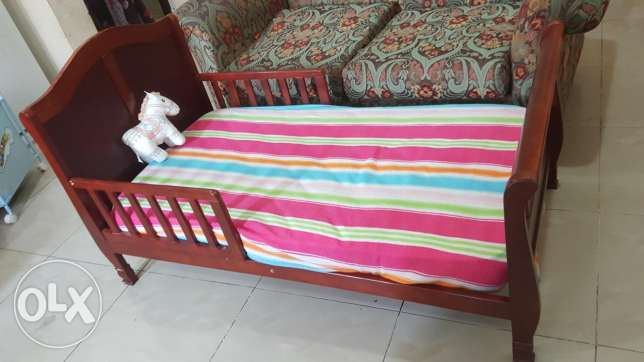 Toddler bed from juniors