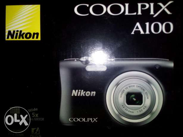 Unused new Nikon coolpix A100 avaibale