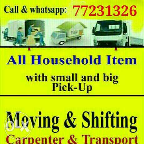 moving shifting packing carpentry transportation services