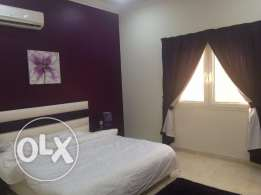 1BHK flat in al-kherittiyat inculding all bills fully furnished