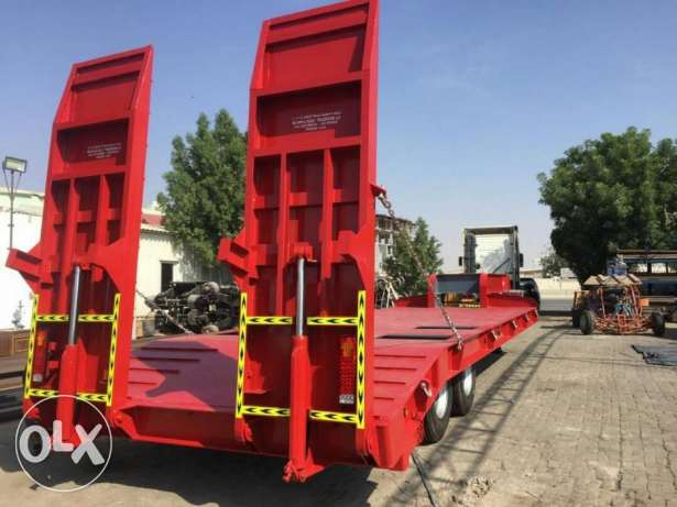 brand new low bed trailers with five year warranty of chassis