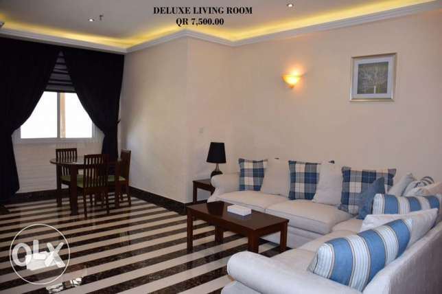 FF 1-Bhk Flat in Musherib+Daily House Keeping,Gym,Pool,Spa,Sauna المشيرب -  2