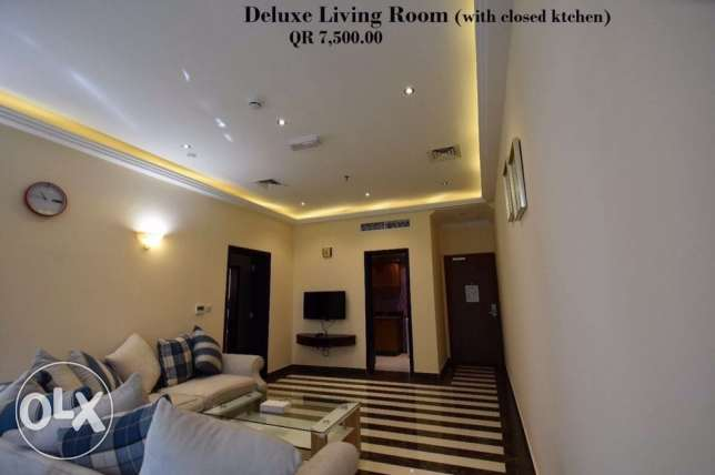 Luxury FF 1-MASTERROOM Flat in Musherib -Daily House Keeping