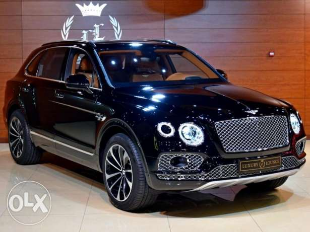 2017 Bentley Bentayga W12, Under Warranty, GCC Specs (HUD,Night Vision