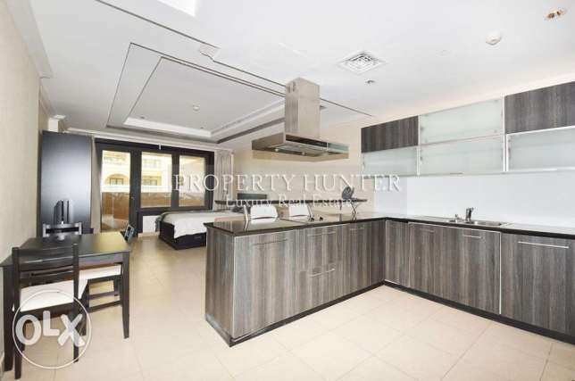 Studio Apartment in Luxury Development الؤلؤة -قطر -  5