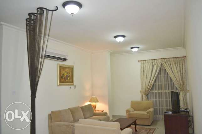 Fully-Furnished 1-BHK Flat At -[Bin Mahmoud]-