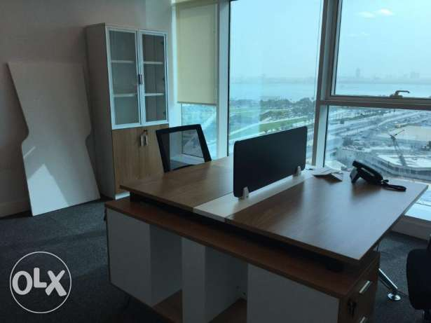furnished office space 650 sqm with an attractive price of 200 Qar per