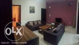 no commission: Furnished 2 bedroom in Umm ghuwailina
