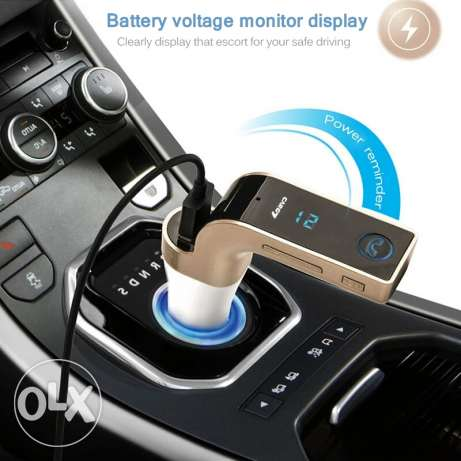 Car Bluetooth Hands-free Calling with USB Aux Memory Card and Charging