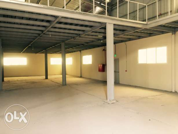 1600sqm store in industrial area
