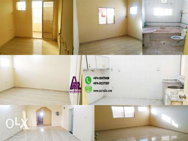 Unfurnished -4BHK Apartment for Rent-Family/Bachelors الوكرة -  1