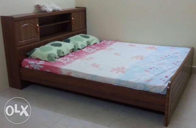 Bedframe with mattress
