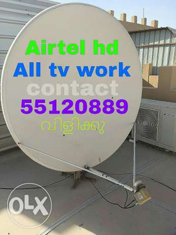 All tv work contact