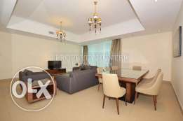 Extravagant 3 Bed + maid furnished apartment