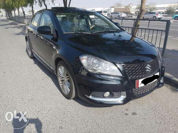 Suzuki kizashi model 2016 accident free