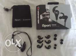 BRAND NEW Monster iSport bluetooth earphones