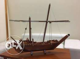 Handmade Miniature Antique Sailing Ships Model Decoration For Sale.