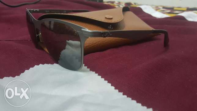 Sunglasses. Ray ban wayfarer flat metal المطار القديم -  2