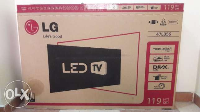"47"" LED hd tv for sale نجمة -  4"