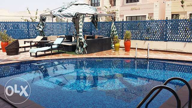 1-Bedroom Fully-furnished Apartment in Muaither معيذر -  1