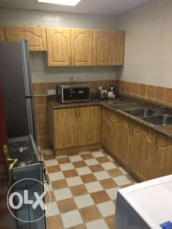 ly furnished 2 bhk flat in al NASSR included water very nice flat النصر -  4