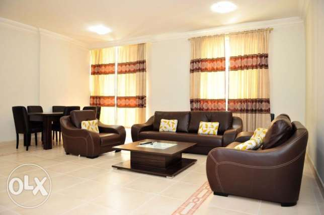Fully-Furnished 3/BHK Flat At -Bin Mahmoud -