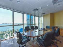 F/F Office with Sea & CornicheView