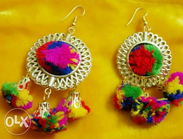 Colourful jewelry