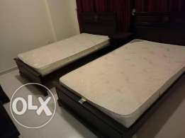 CLEAN AND NET fully furnished 2 bedroom apartment in bin MAHMOUD