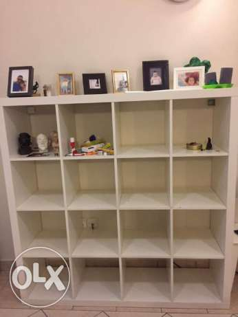 For sale Ikea Kallax Shelving Unit