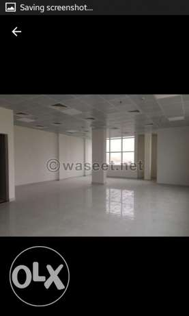 Office space available in brandnew building old airport area