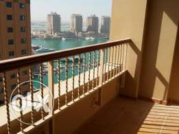 Lovely semi furnished 1 bedroom apartment in the pearl with balcony