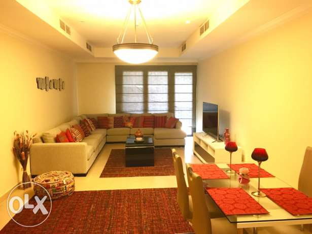 stunning furnished one bedroom in the pearl الؤلؤة -قطر -  1