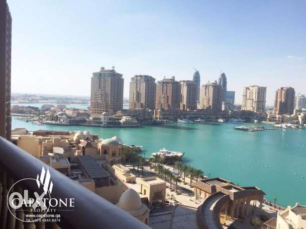 Full Marina View, 3BR Apartment For Sale at Porto Arabia الؤلؤة -قطر -  7