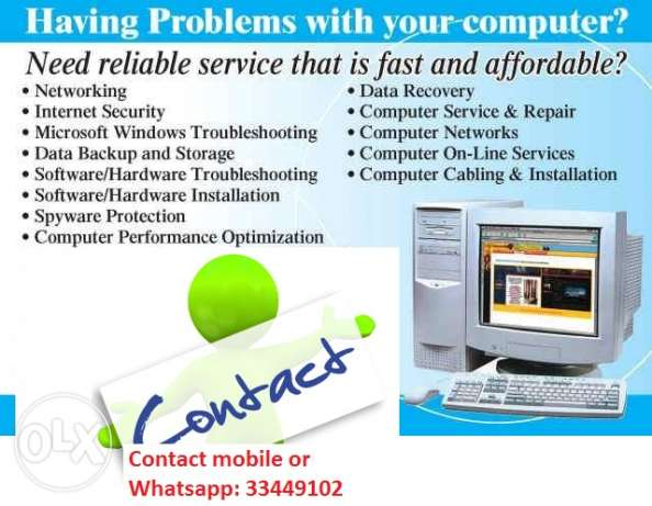 IT SOLUTIONS- We are here to help for computer problem 24/7