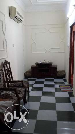 2 BHK semi furnished part of villa for rent