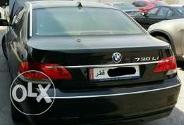 BMW-7 Series-2007 Model-Black-730Li For Sale