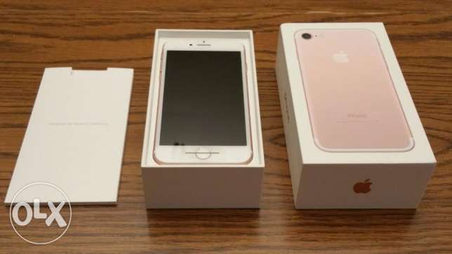 new sealed iphone 7 rose gold 128gb verizon good