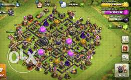 Clash of clans account Max th9 level 133