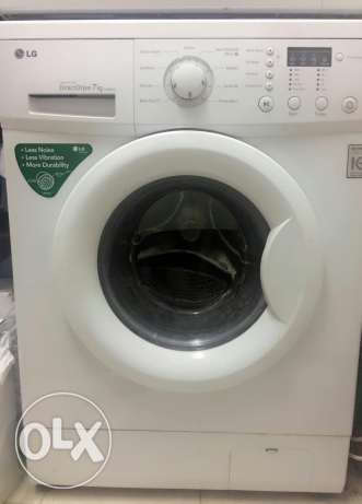 LG 7 Kg Washing machine. Made in Korea المطار القديم -  1