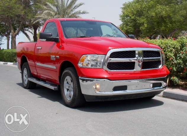 Brand new 2016 ram 1500 slt single cab 4x4 gcc Red Color
