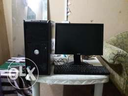 DELL core2quad 2gb ddr3 ram 320harddisc fullset
