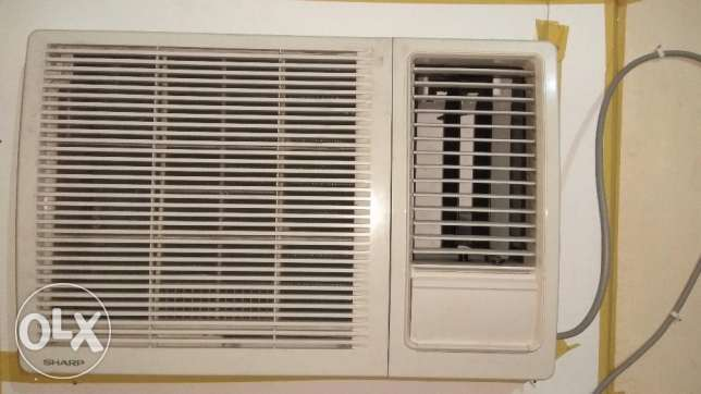 Urgent sell Sharp 1.5 Ton Window AC.