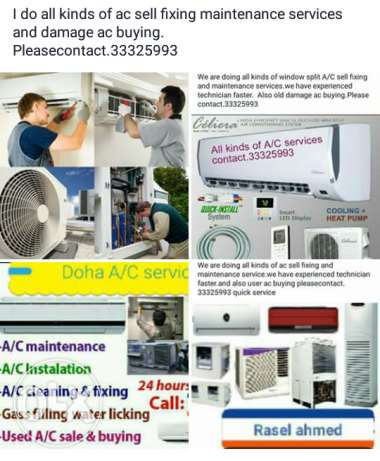 Ac fixing sell and service
