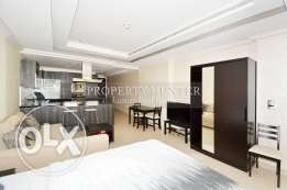 Spacious and Stylish Studio in The Pearl
